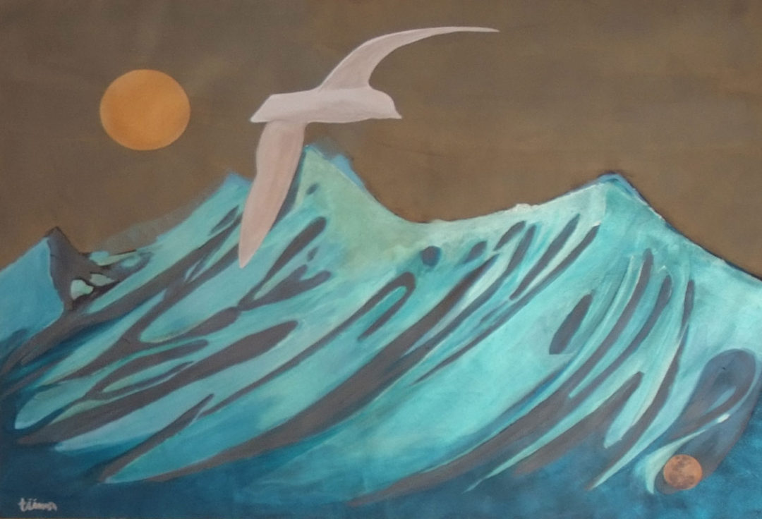 Mountainous Wave – Number 2